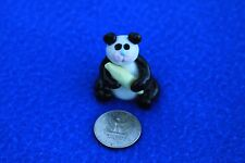 Collectibles Panda Bear Handmade Miniatures Animals Dollhouse Pets Figurines