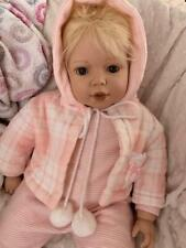 Luna Baby Doll, vinyl and cloth, friend with Elisabeth Lindner and Gotz baby's
