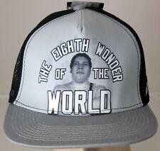 Andre the Giant Eighth Wonder of World WWE Licensed Baseball Cap Hat