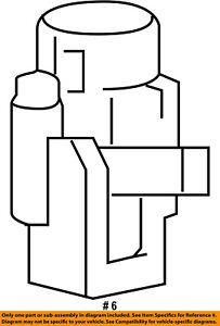 CHRYSLER OEM-Heater Blend Door Actuator 68299450AA