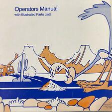 Atari Road Runner Arcade Game Machine Operators Parts Manual Schematics 1stPRINT