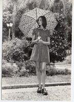Fotografia de Rocio Martin Mis España 1972 con dedicatoria y Autografo (DV-187)