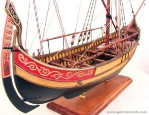 Model Ship Kits Marmara Trade Boat 17'' Scale 1/48 Wood Model Ship Kit Gift
