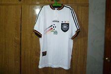 Germany Adidas Vintage Football Shirt Home 1996/1997/1998 Euro Champions Size Xl