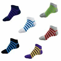 1Pairs Men's Five Finger Toe Socks Comfortable Colorful Stripes Cotton Socks