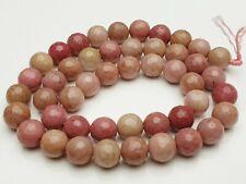 """Handmade 5x8mm Naturel Rose Rhodochrosite pierres précieuses Perles Collier 18/"""" AAA"""