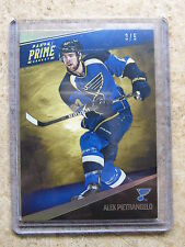 11-12 Panini Prime Gold Base Parallel #81 ALEX PIETRANGELO /5