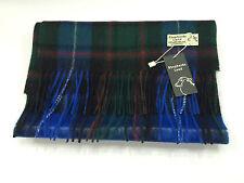 Scottish MacRae Tartan 100% Lambswool Scarf Brand New With Tags