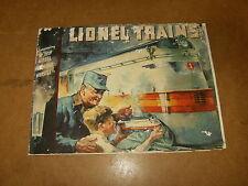 Ancien catalogue / vintage catalog - LIONEL TRAINS 1935