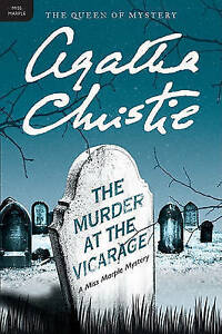 The Murder at the Vicarage by Agatha Christie Paperback book