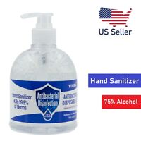 16.9oz Hand Sanitizer Antibacterial Gel 75% Ethanol Nourishing Pump Bottle