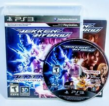 Tekken Hybrid PS3 Game (Sony PlayStation 3, 2011) Complete Tested Faded Cover