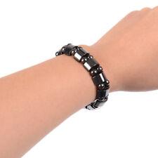 Fashion Noir Magnétique Hématite Guérison Homme Femme Loose Beads Bracelet Hot