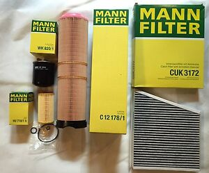 Mann Filter Set, Inspection Kit Mercedes Benz E-Class W211 S211 CDI