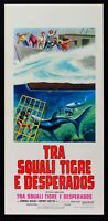 L107 Plakat Lo Hai The Jaws The Shark Zwischen Sharks Tiger Sub Taucher