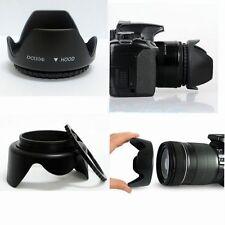 Hot 49mm Tele Flower Screw-in Lens Filter Hood For  Sony DSLR Camera