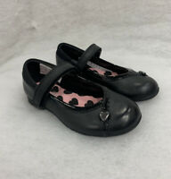 Girls Clarks School Shoes Movello Low Back Leather Size 9G Sale Price Was £34