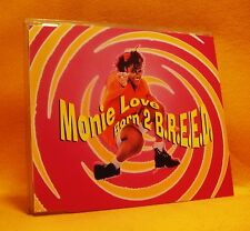 MAXI Single CD Monie Love Born 2 B.R.E.E.D. 3TR 1993 (MINT) House, Pop Rap