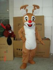 Hot selling Reindeer Adult Mascot Costume fancy dress for advertising/festival