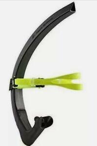 Aqua Sphere Michael Phelps Focus Swim Training Snorkel, Black/Green