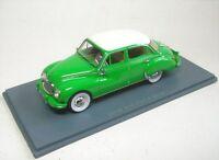 DKW 3=6 F94 4 door (green/white)  1:43