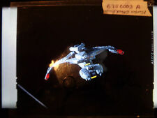 Star Trek Original Studio Slide Transparency Klingon Attack Cruiser Card