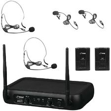 NEW Pyle Pro Pdwm2145 Vhf Fixed-frequency Wireless Microphone System