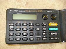 Sharp EL-6061 Vintage Memo Master 100, from 1971, no instructions manual