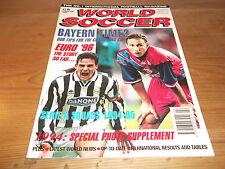Football Magazine World Soccer February 1995 Juventus Real Madrid Pele Okocha