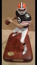 Danbury mint Tim Couch Cleveland Browns NFL sports figurine rare mint