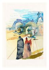 Divine Comedy Purgatory 20 by Salvador Dali A4 Art Print