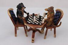 Original Wiener Bronze, Dackel Schachspieler