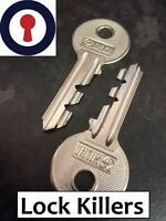 Locksmith tool lock killers for Euro, Rim, Oval Yale 1st P&P