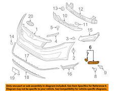 2012-2014 Kia Optima Right Front Bumper Side Mounting Bracket 86514-4C000 OEM