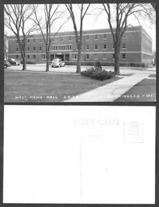 Old South Dakota Real Photo Postcard - Brookings State College - West Mens Hall