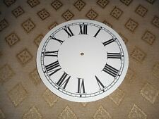 "Round Paper Clock Dial - 3"" M/T - Roman  - Matt Cream - Face/Clock Parts"