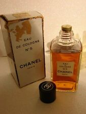 Vintage Chanel No 5 EDC Gold Sealed 4 Oz 120ml Perfume P.M, Rare Gold Seal NIB