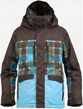 Burton Boys Distortion Snowboard Jacket (XL) Grizzly Norsk Revolt Plaid