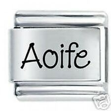 AOIFE Name  - Daisy Charms by JSC Fits Classic Size Italian Charm Bracelet