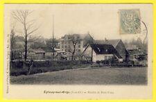 cpa 91 - ÉPINAY sur ORGE (Essonne) MOULIN de PETIT VAUX Ed. A. THEVENET Savigny