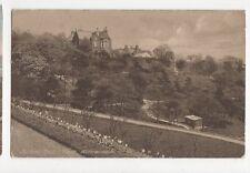 Sunset Dean Park Kilmarnock Vintage Postcard  012a