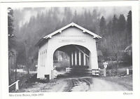"*POSTCARD-""Mill Creek Bridge""-1924-1953    ...OREGON  (#44)"