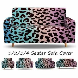 Leopard Sofa Slipcovers Sofa Cover Couch Cover for 1 2 3 4 Seater Sofa