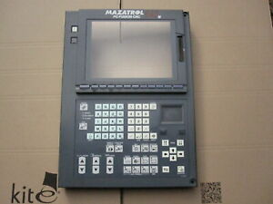 MAZAK FUSION 640 OPERATOR PANEL MISSING CARD COVER, KEY WORN FCU6-YZN31, INC VAT