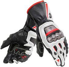 Gant Dainese Full Metal 6 couleur Blanc/noir/rouge Taille L