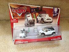 Disney Pixar Cars MEL DORADO SHOW Jessica Giampetrol Nate Stanchion 2-Pack