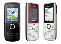 Nokia C1-01 Unlocked Camera Bluetooth Mobile PRISTINE