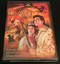 Jack The Giant Killer DVD (1961, MGM 2004 Release) New, Mint