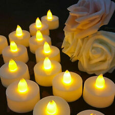 24pcs LED Tea Lights with Timer Flameless Flickering Candles Battery Operated