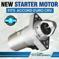 For Honda Accord Starter Motor EURO CL CM CP CR 2.4L CRV RD RE RM 2.4L SM612-06